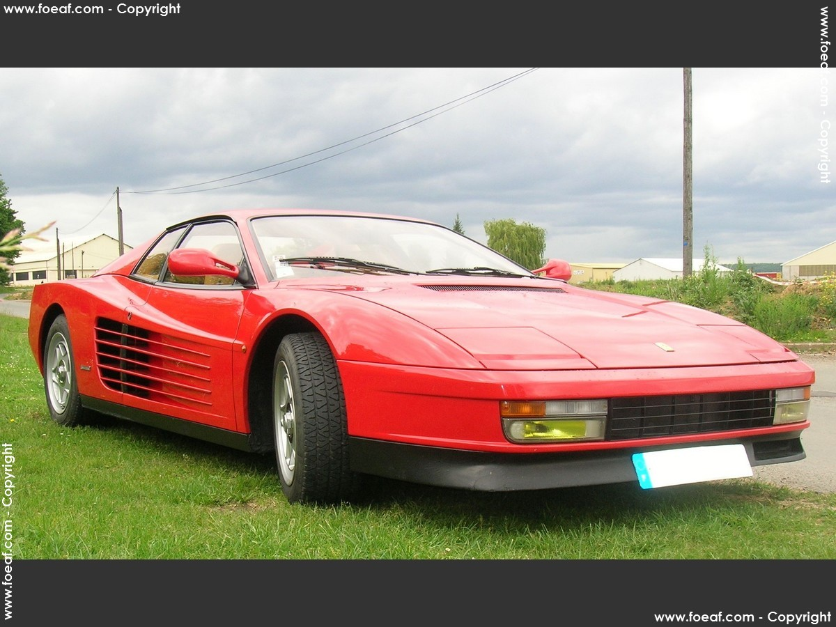 ferrari testarossa 1987 essai auto titre. Black Bedroom Furniture Sets. Home Design Ideas