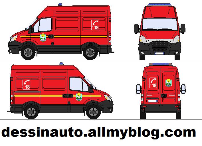Dessins de v hicules de secours sur paint page 3 auto - Dessin d un camion de pompier ...
