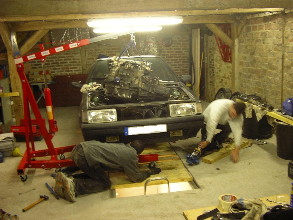 Bx gti 4x4 page 4 auto titre for Faire une fosse de garage