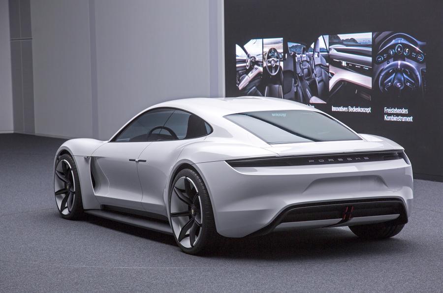 100 Electrique Porsche Mission E 2019 202x Auto Titre
