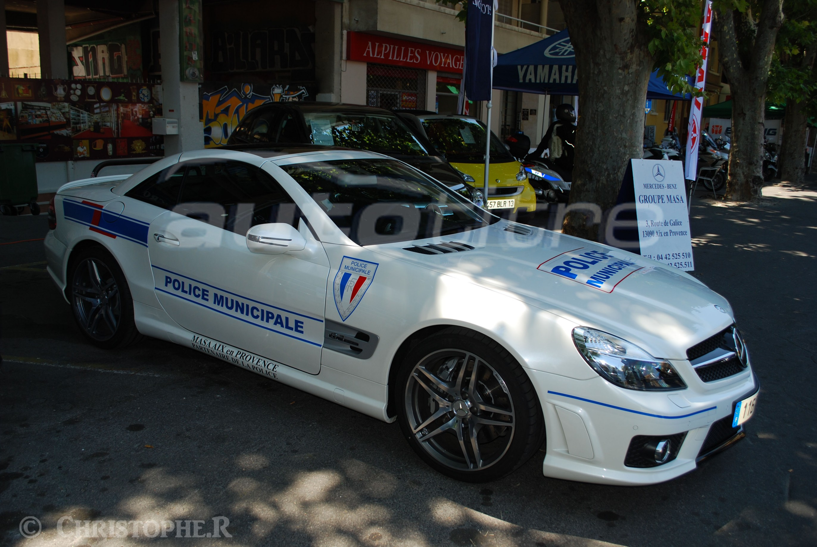 Mercedes SL de la Policía de Francia Police Municipale France