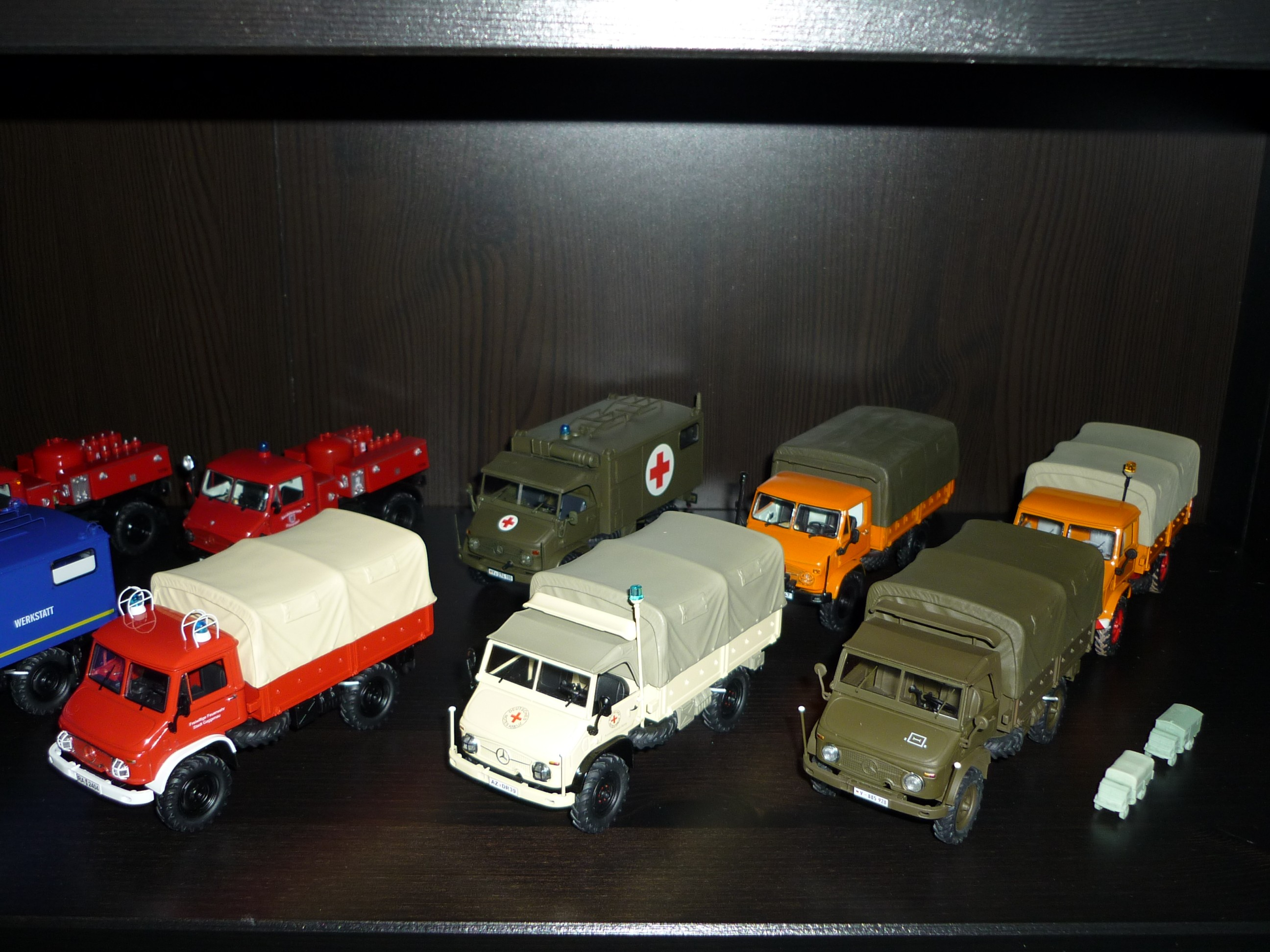 Unimog miniature 2607002d3d