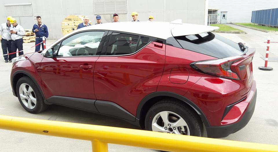 Toyota C Hr 2016 Auto Titre