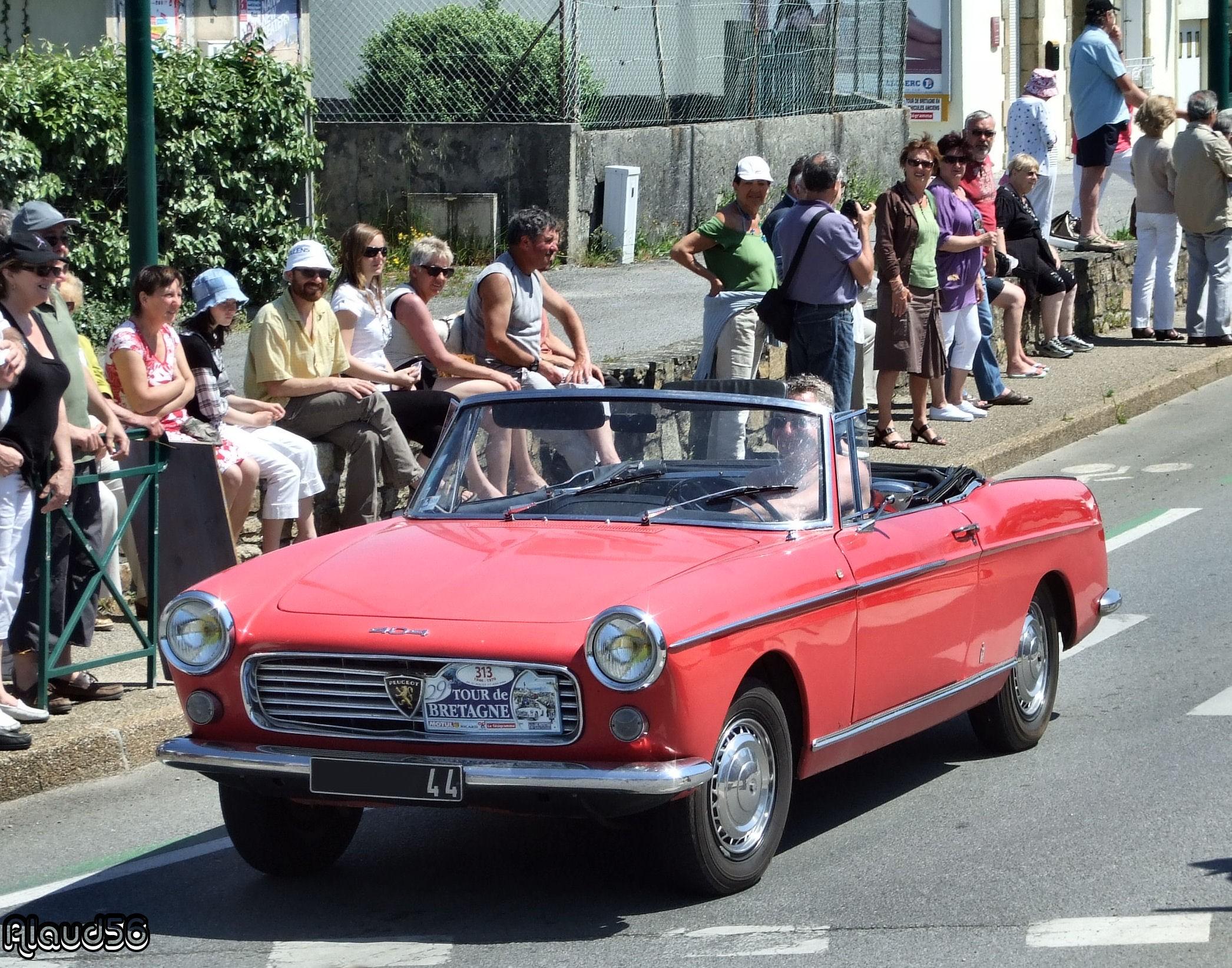 Peugeot 404 Cabriolet de 1963