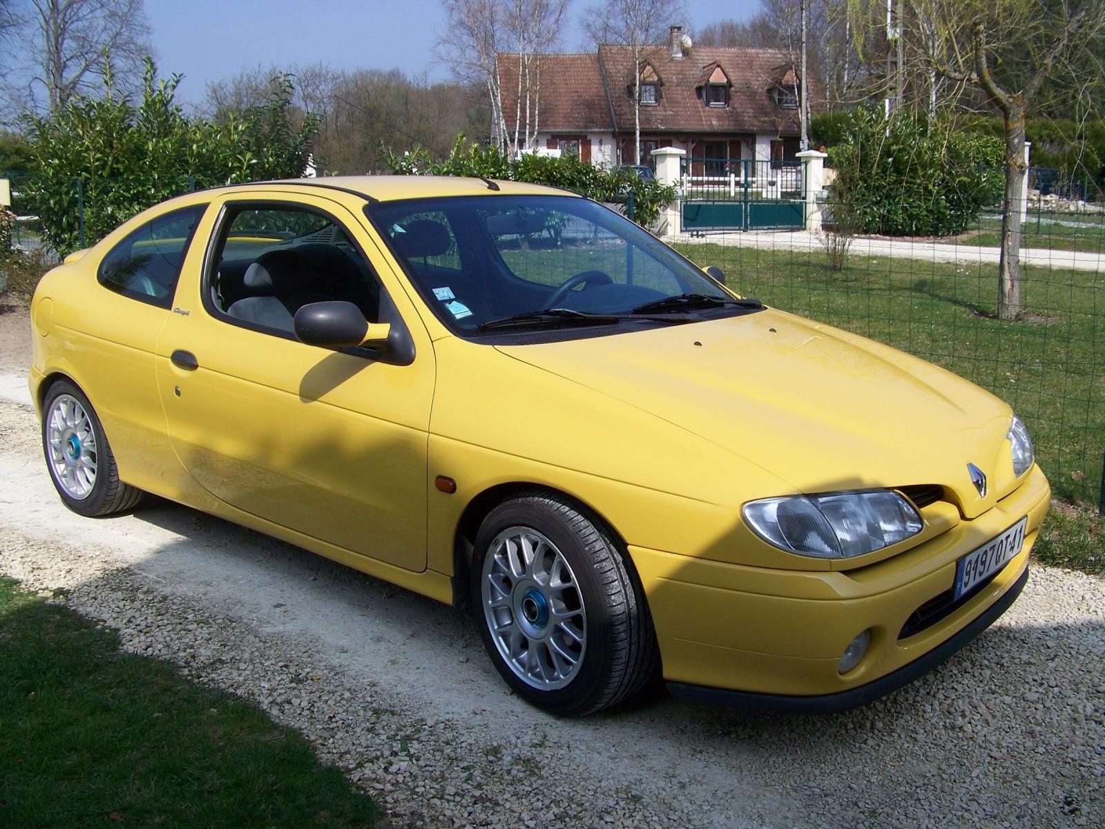 Megane coupé 1.6 90ch