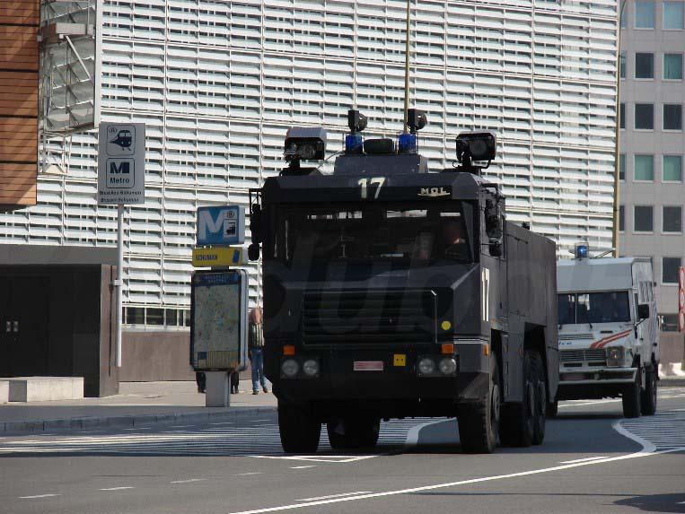 Escorte de la gendarmerie