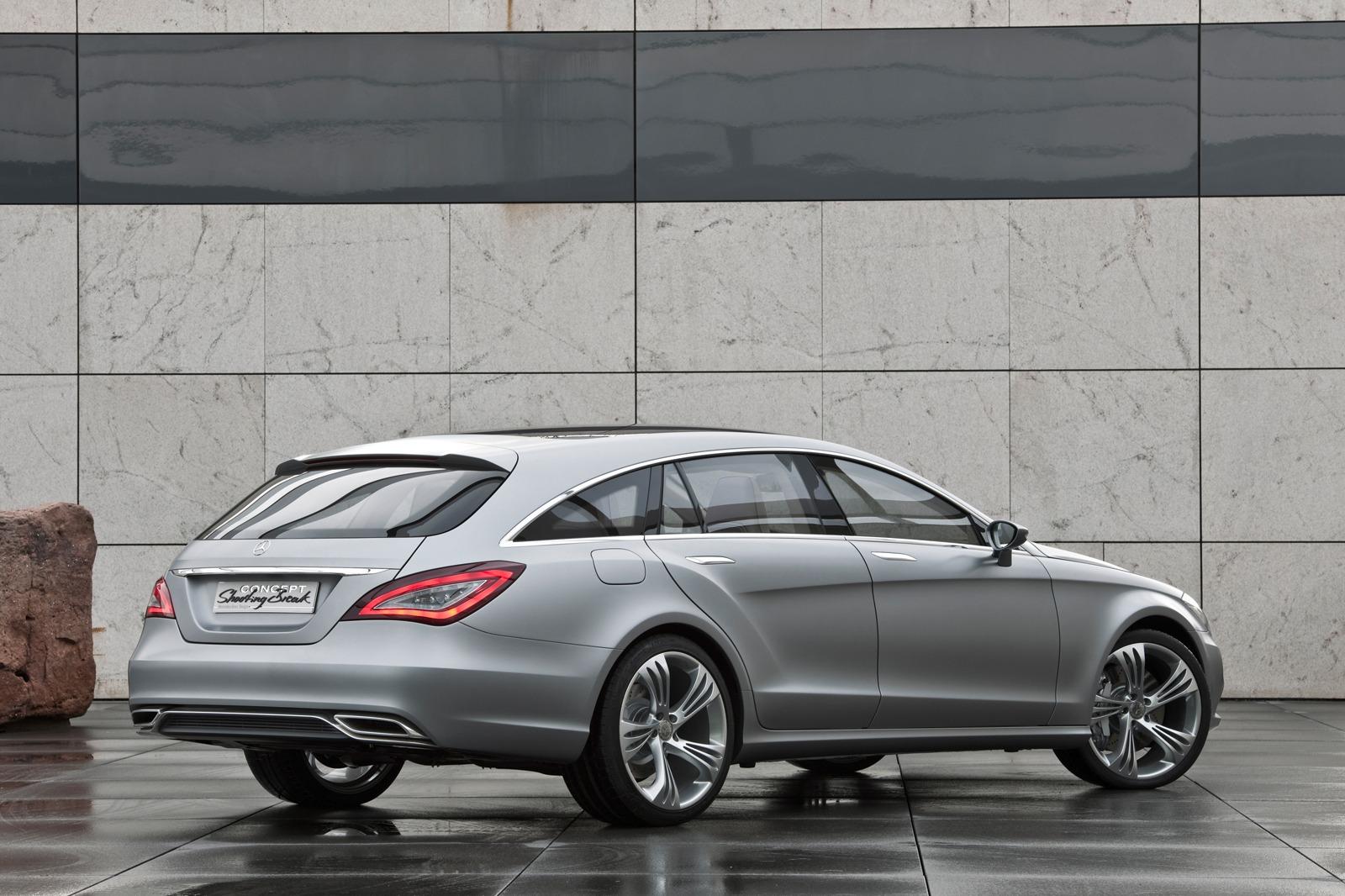 Mercedes cls shooting break concept auto titre for Mercedes benz cls station wagon