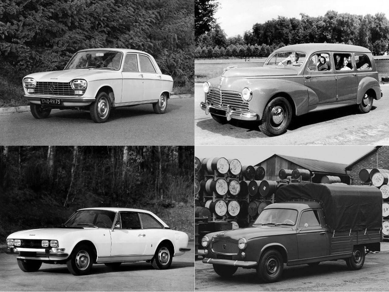 toutes les voitures peugeot depuis 1950 auto forever autos post. Black Bedroom Furniture Sets. Home Design Ideas