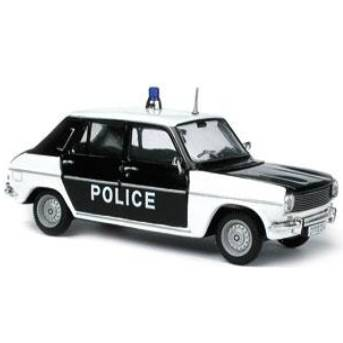 voiture de police fran aise ancienne auto titre. Black Bedroom Furniture Sets. Home Design Ideas