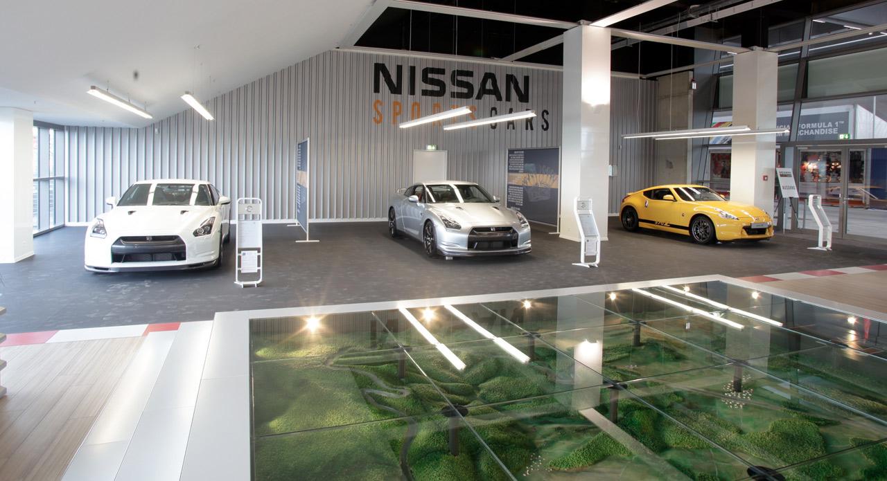 Nissan Sportscar Shop Au Nurburgring Auto Titre