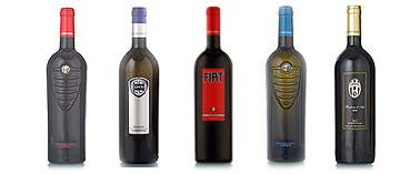 photo bouteille de vin fiat