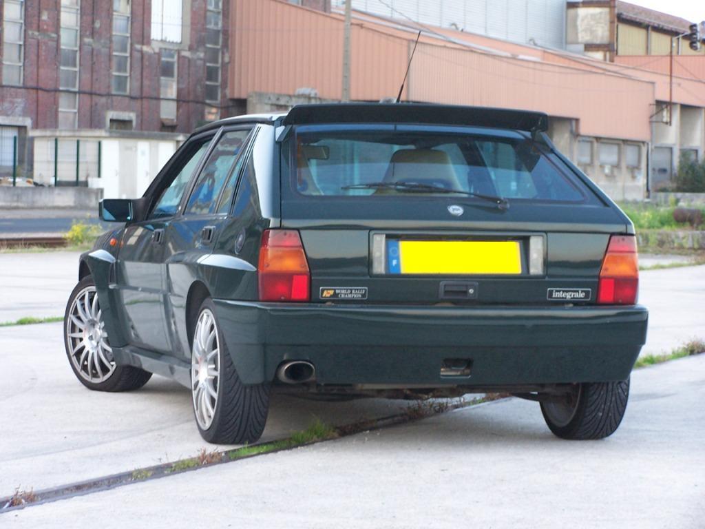 Mon nouveau jouet : Lancia Delta Evo I Auto titre #CBCB00