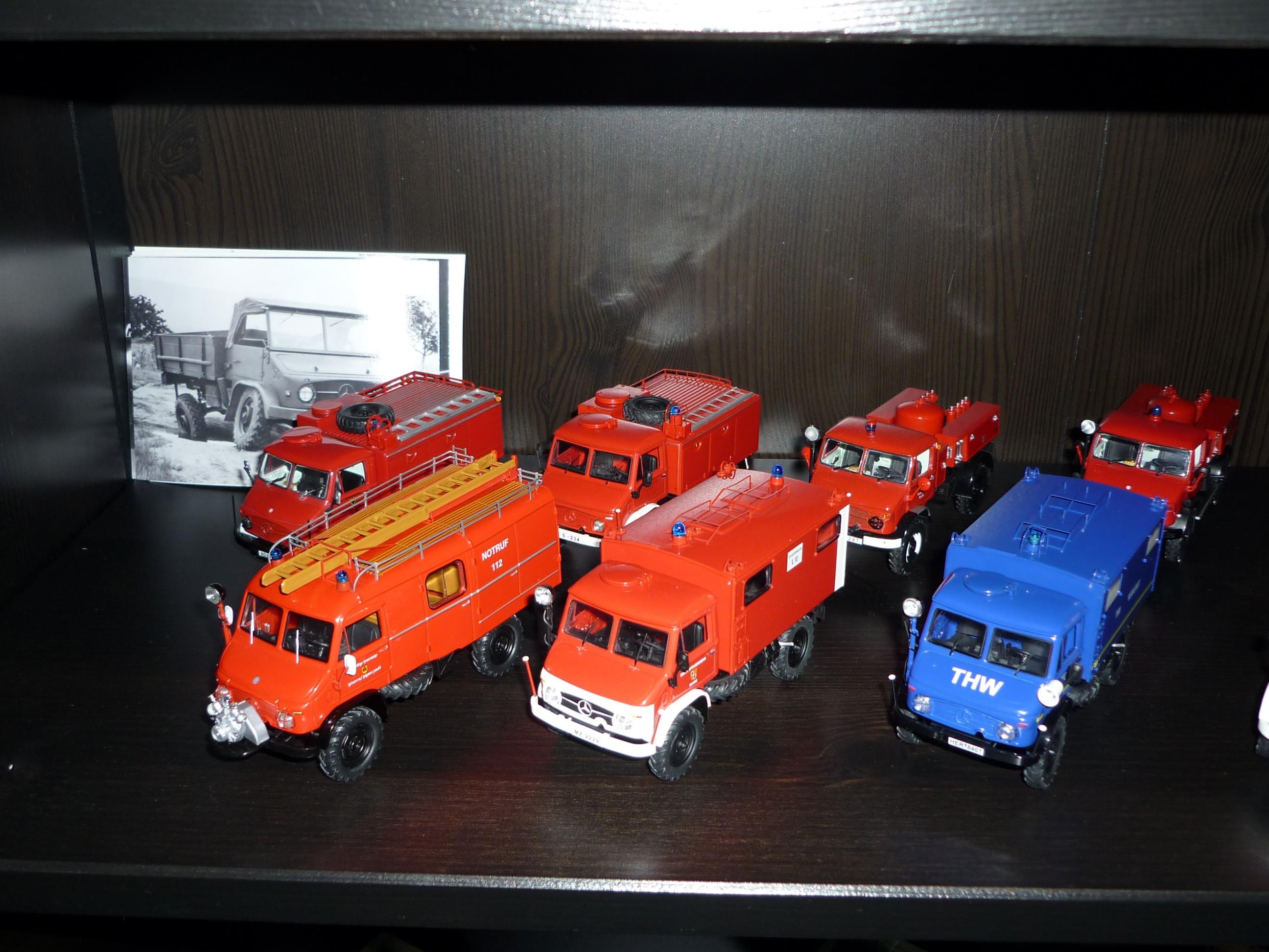Unimog miniature 53b21d5508