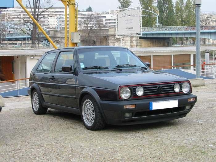 marche arri re la vw golf 2 gti 16s auto titre. Black Bedroom Furniture Sets. Home Design Ideas