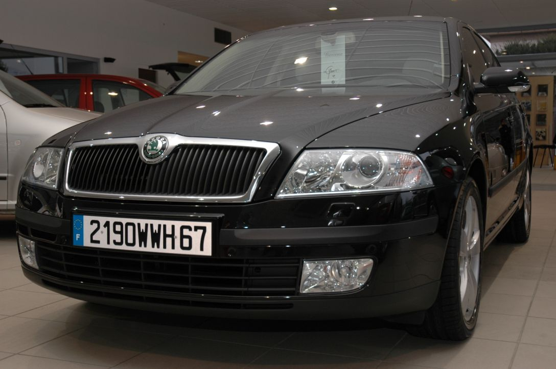 elle est arriv e la skoda octavia 2 auto titre. Black Bedroom Furniture Sets. Home Design Ideas