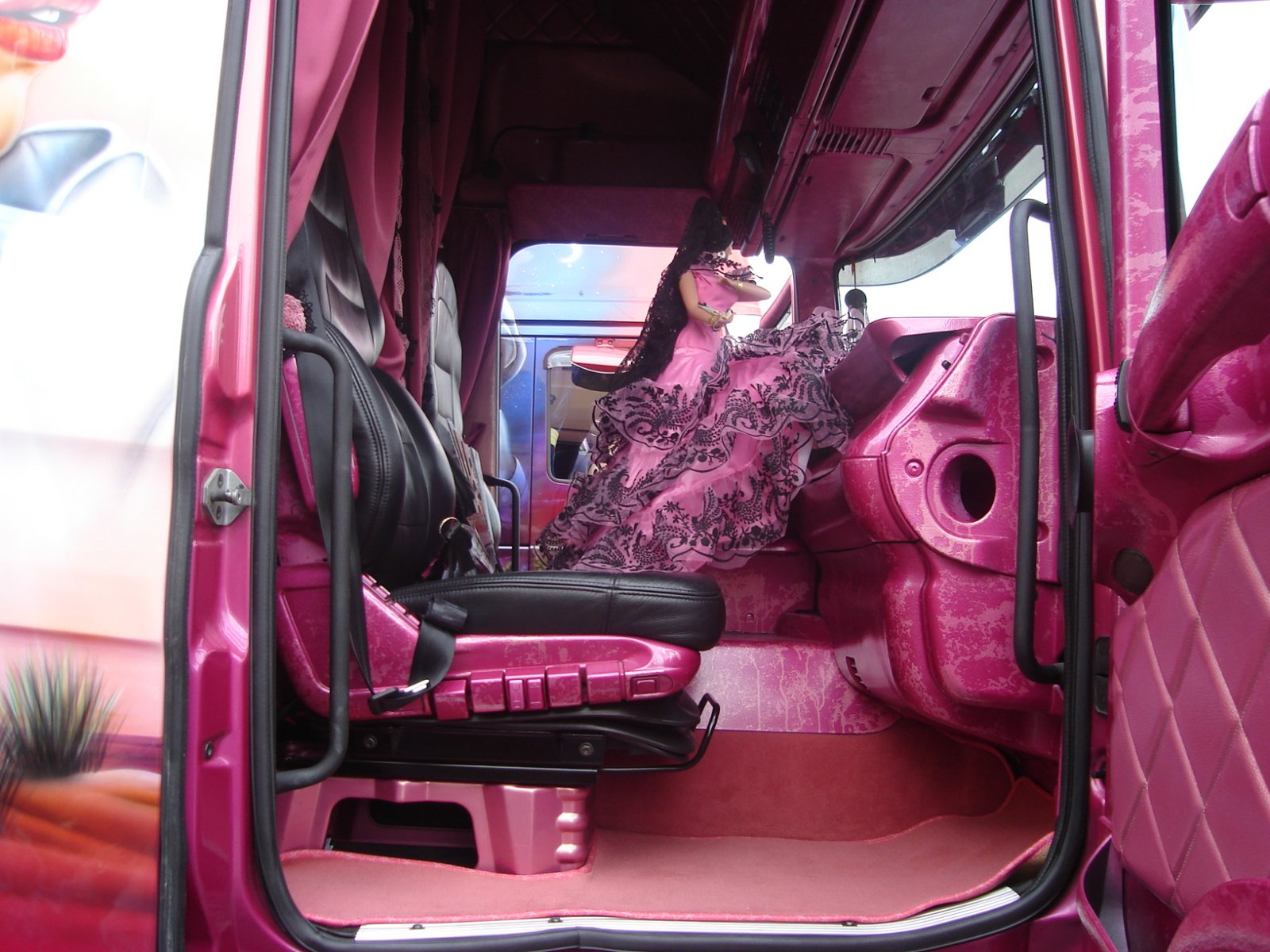 Sellerie chatillon for Interieur camion renault t