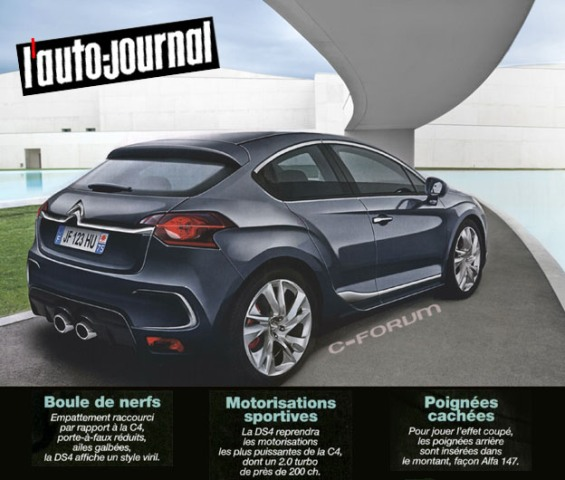 citroen ds4 nouvelle ds4s chinoise page 69 page 4 auto titre. Black Bedroom Furniture Sets. Home Design Ideas
