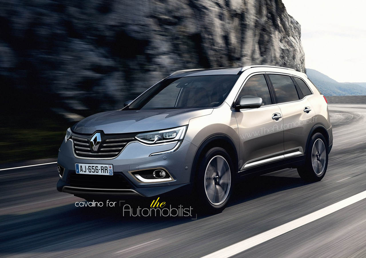 Renault koleos auto titre for Kadjar interieur 7 places