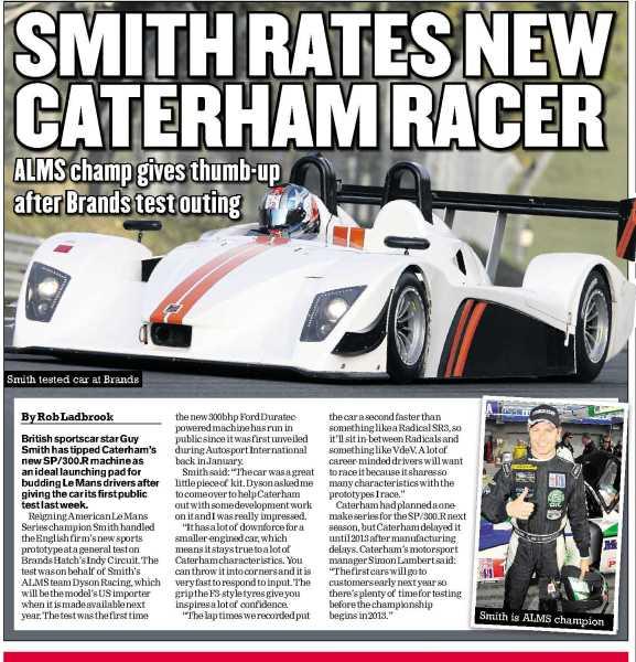 Caterham Sp 300r: CATERHAM SP300R : La Verrons-nous Sur Les Routes