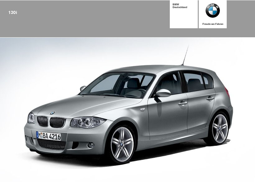 nouvelle bmw 130i page 3 auto titre. Black Bedroom Furniture Sets. Home Design Ideas
