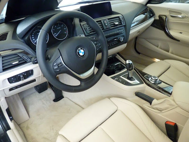Laguna et m135i on board page 360 auto titre for Interieur cuir bmw e90
