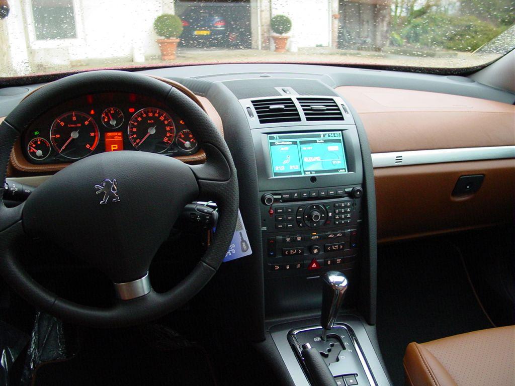 Mes 2 premi res 407 coup auto titre for Interieur 406 coupe