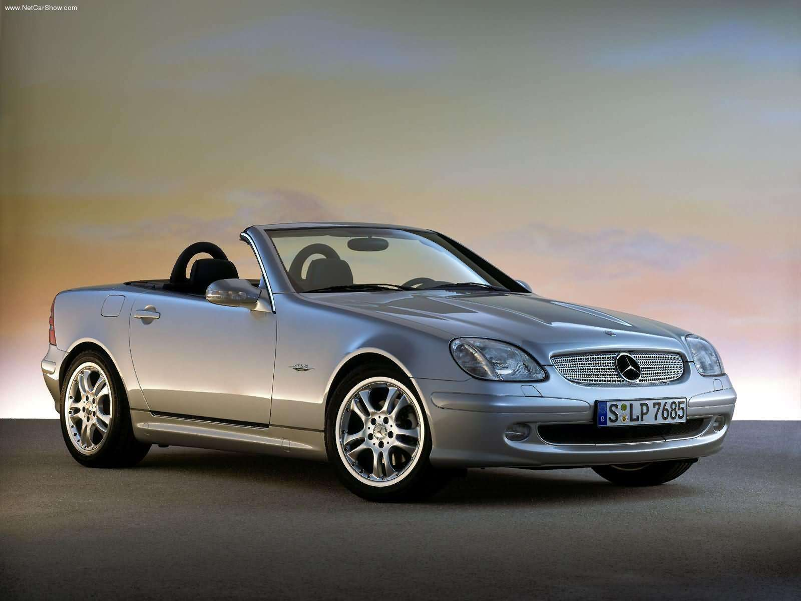 mercedes slk 200 k 163ch facelift avis auto titre. Black Bedroom Furniture Sets. Home Design Ideas