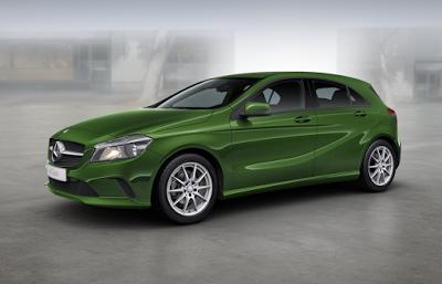 Mercedes Classe A Marron Orient