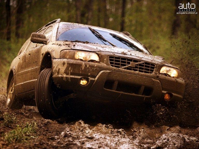 Volvo Xc70 Ii Et Xc90 Dans La Boue Auto Titre