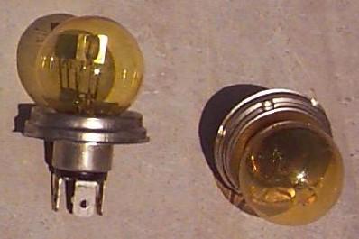 Circulationt avec deux ampoule differente auto titre for Changer ampoule garage