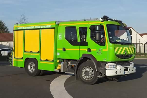 couleur gyrophare camion pompier