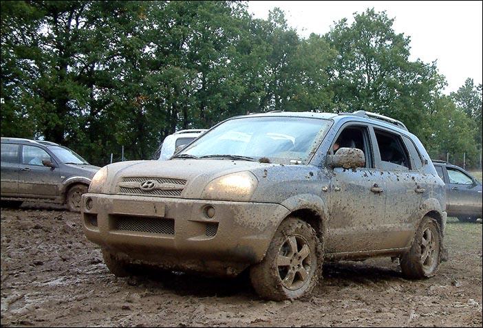 De reponse sur le hyundai tucson auto titre for 4x4 dans la boue