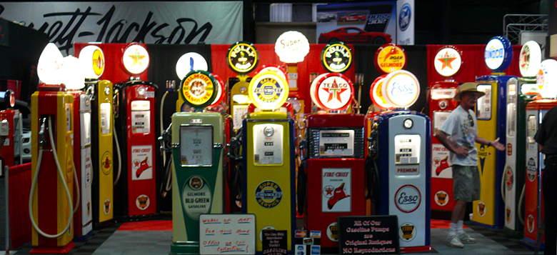 vieille pompe a essence américaine a vendre