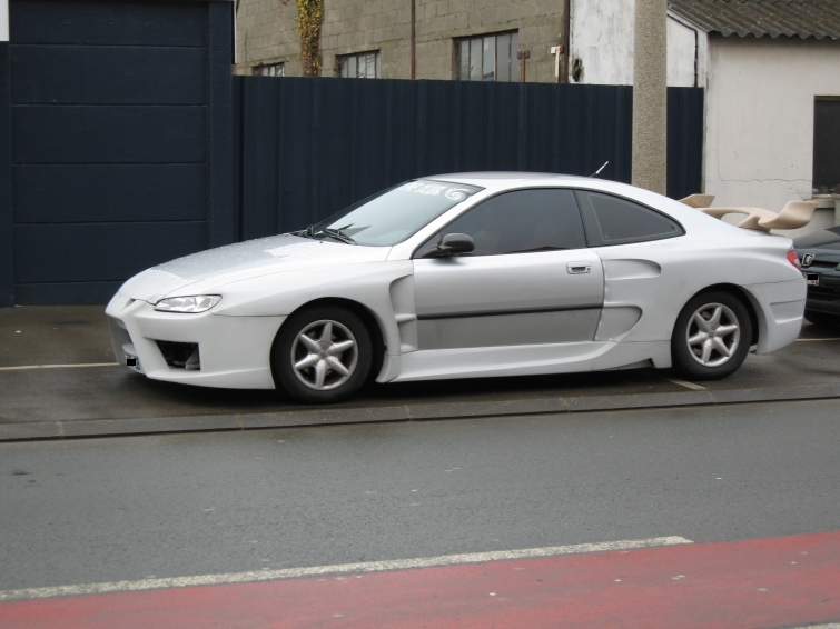 Coupe 406 nascar auto titre - Kit carrosserie peugeot 406 coupe ...