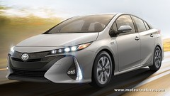 Toyota Prius IV plug-in hybride rechargeable