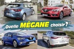 Guide d'achat : les Renault Mégane à l'essai ! Laquelle choisir ?