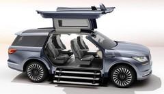 Lincoln Navigator Concept : portes spectaculaires, air de Range Rover