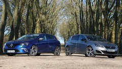 Essai Peugeot 308 GT vs Renault Mégane 4 GT : Compactes en survet'