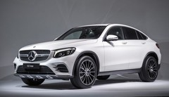 Mercedes GLC Coupé : le rival du BMW X4