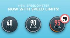 Waze : les limitations de vitesses arrivent enfin