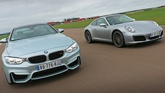 Essai BMW M4 vs Porsche 911 Carrera S : L'ère du Turbo