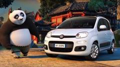 La Fiat Panda s'invite dans l'univers de Kung Fu Panda 3