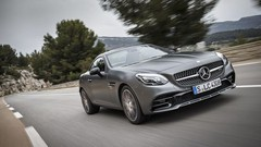 Essai Mercedes SLC : chevaux au vent