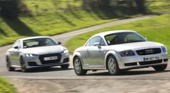 Essai Audi TT 1998 vs Audi TT 2016 : c'était mieux avant ?