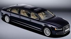Audi A8 L extended 2016 : les photos de la limousine Audi