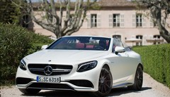 Essai Mercedes-AMG S 63 Cabriolet: weight isn't wrong