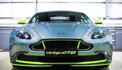 Nouvelle Aston Martin Vantage GT8 : taillée par la course !
