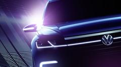 Un concept annonçant le futur Volkswagen Touareg au salon Pékin 2016