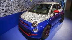 Une Fiat 500 préparée aux couleurs de Pepsi