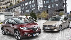 Renault Scénic 2016 vs Volkswagen Golf Sportsvan : leur premier match